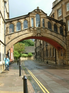 Bridge of Sighs, Oxford England