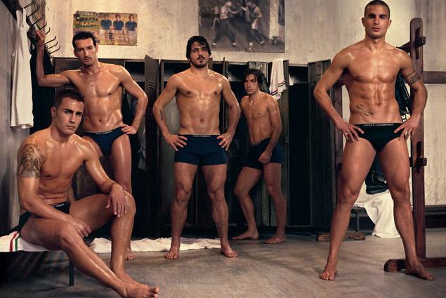 Shaved males locker room
